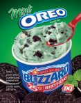 Mint Oreo Blizzard