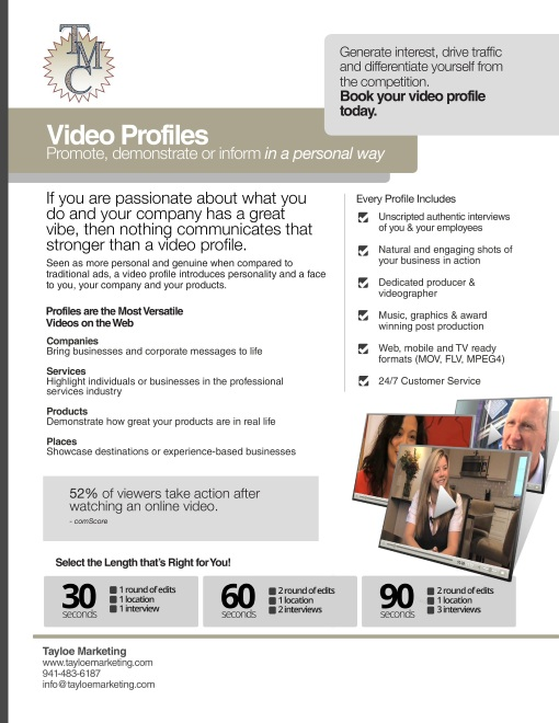 Tayloe Marketing Video profile-page-0